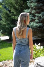 Shop BLUE JEAN BABY DENIM JUMPSUIT -- As You Go Boutique