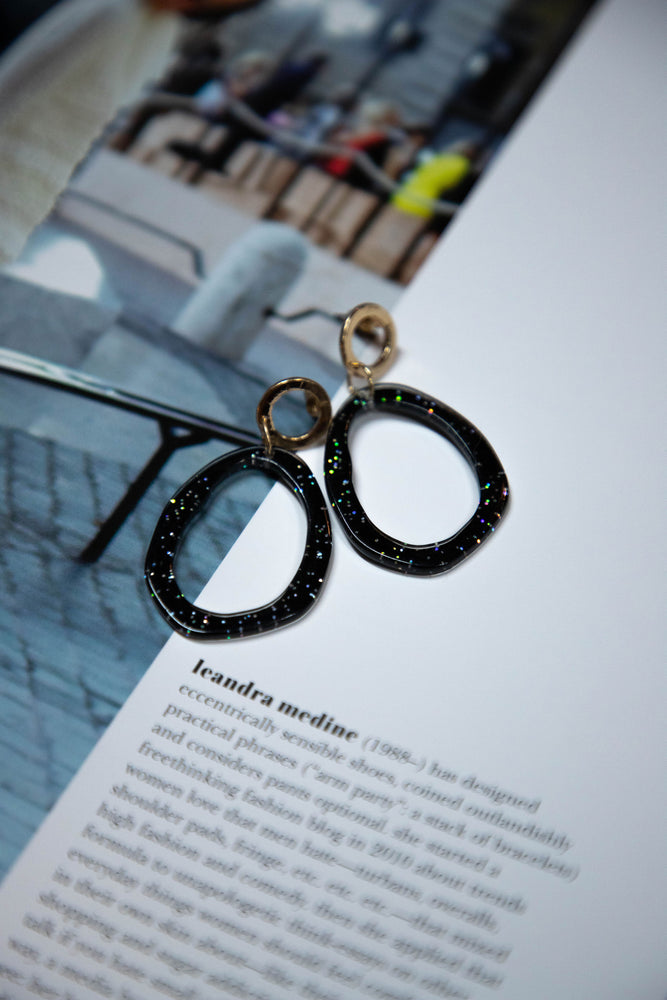 Shop BACK TO BLACK EARRINGS -- As You Go Boutique