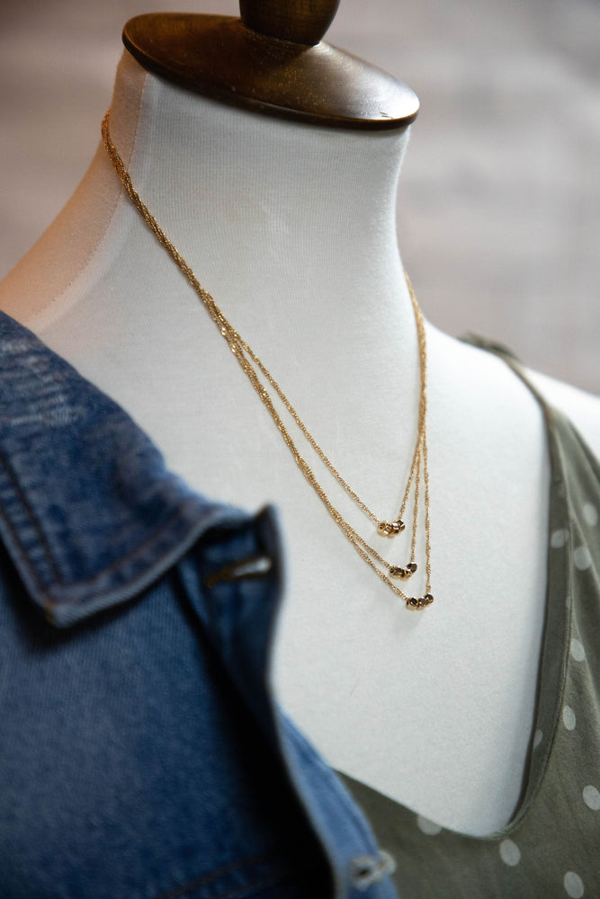 Shop DAINTY DARLING LAYERED NECKLACE -- As You Go Boutique