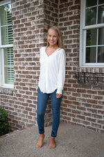 Shop ON A WHIM BUTTON UP CARDIGAN IN IVORY -- As You Go Boutique