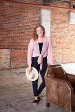 Shop MAKE ME BLUSH BLOUSE IN DUSTY BLUSH -- As You Go Boutique