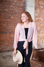 MAKE ME BLUSH BLOUSE IN DUSTY BLUSH