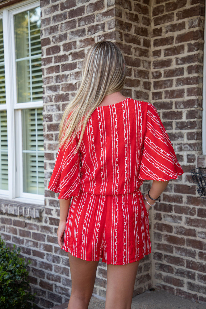 Shop ST. TROPEZ BOTTOMS IN RED -- As You Go Boutique