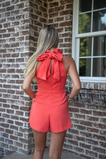 PARADISE ROMPER IN POPPY - As You Go Boutique