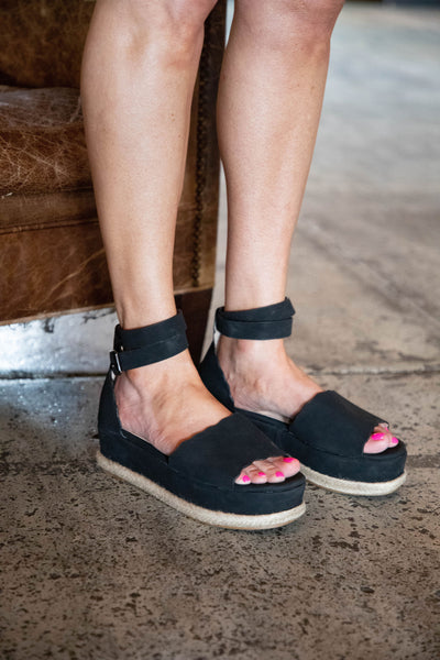 Shop JANE ESPADRILLES IN BLACK -- As You Go Boutique