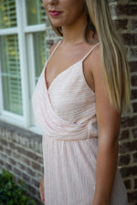 Shop COCKTAIL DRESS IN BLUSH -- As You Go Boutique