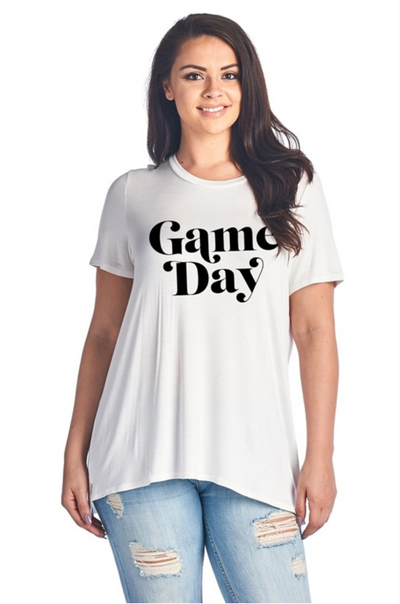 Shop GAME DAY TEE -- As You Go Boutique