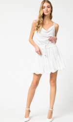 Shop COWLNECK ROMPER IN WHITE -- As You Go Boutique