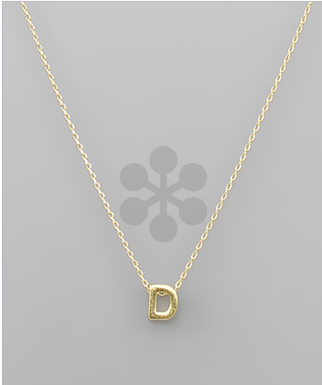 "16"" INITIAL CHAIN NECKLACE"