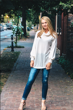 Shop HALEY SWEATER IN IVORY -- As You Go Boutique