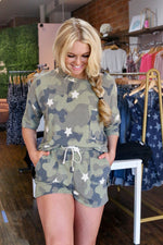 Shop ARMY LOUNGE SHORTS -- As You Go Boutique