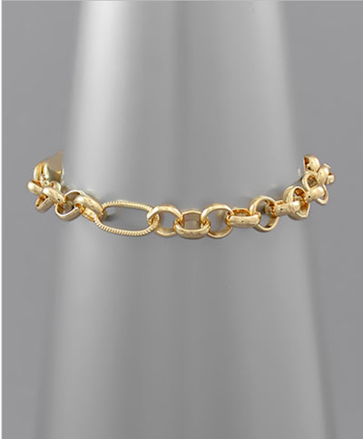 Shop OVERSIZED CHAIN BRACELET -- As You Go Boutique