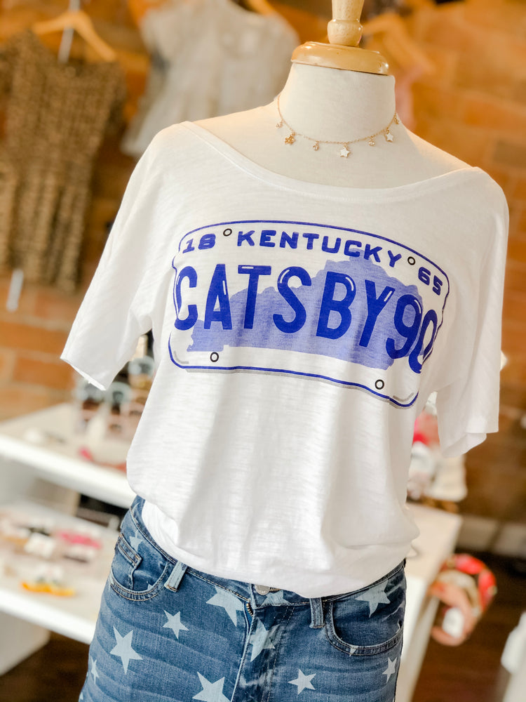 CATS BY 90 TEE - As You Go Boutique