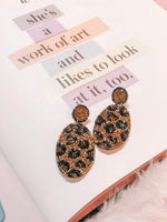 REMI CHEETAH EARRINGS