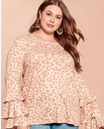 Shop PINK CHEETAH TOP -- As You Go Boutique