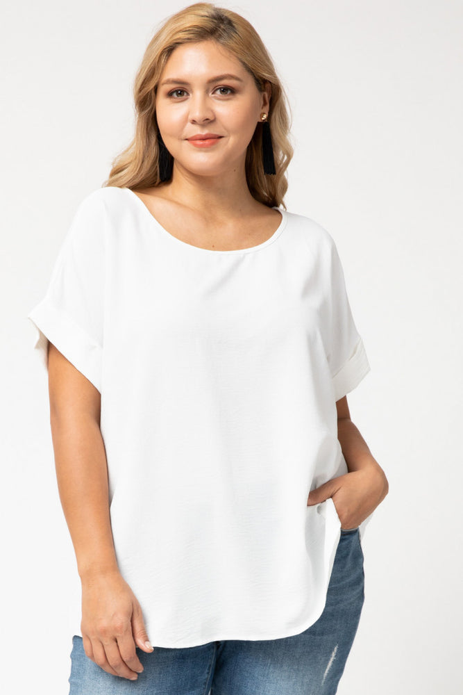 Shop CLASSIC WHITE BLOUSE -- As You Go Boutique
