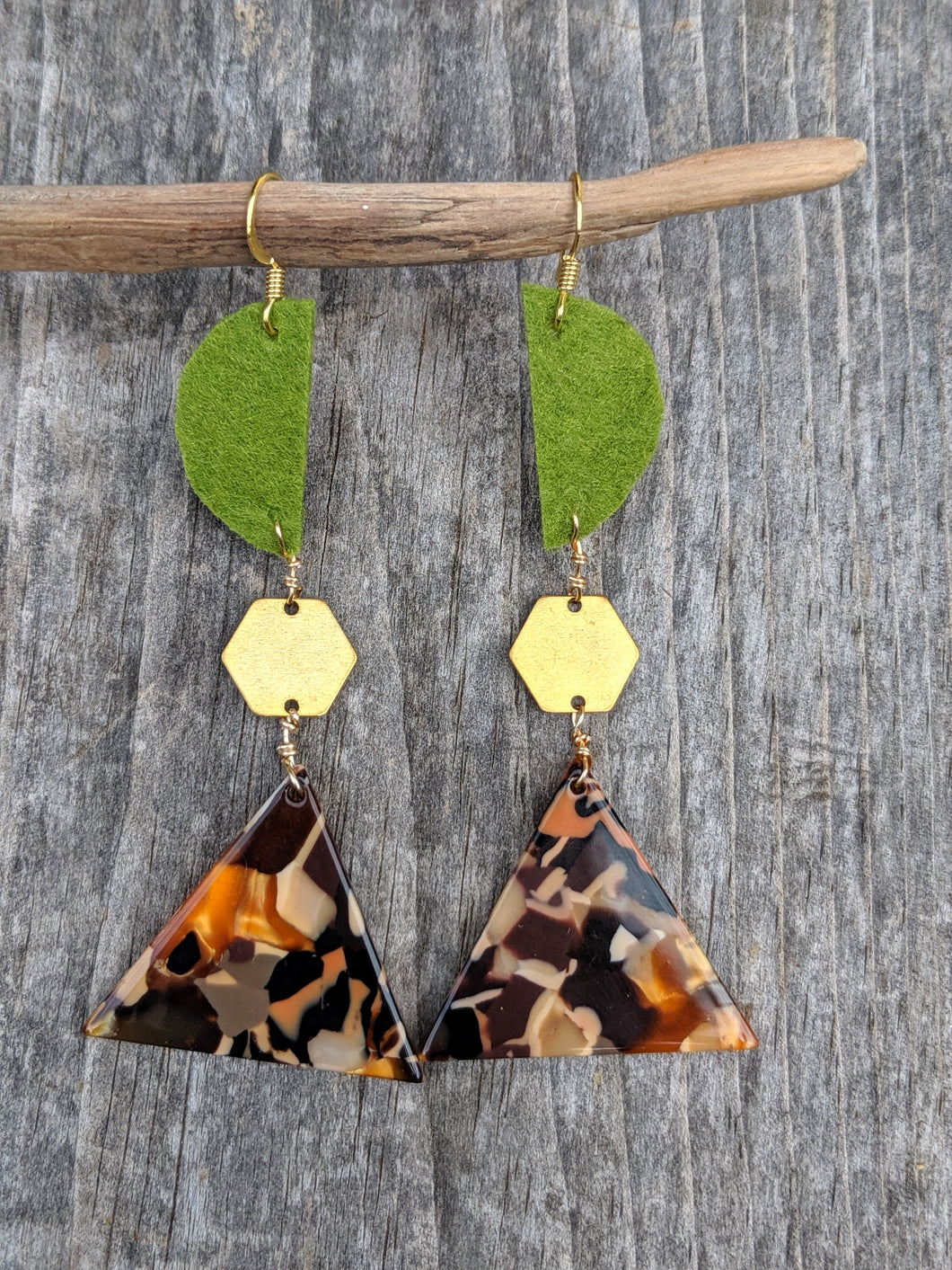 Multi Shape Earrings