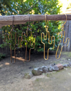 Saguaro Wire Earrings