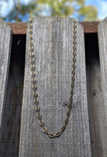 Load image into Gallery viewer, Antique Brass Necklace