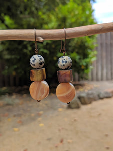 Neutral Stone Earrings