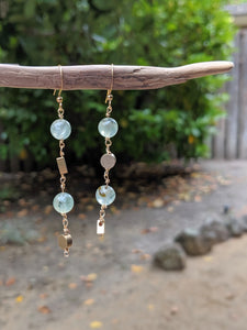 Pretty in Prehnite Earrings
