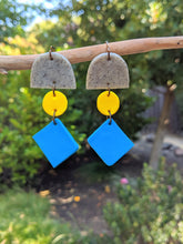 Load image into Gallery viewer, It's Raining Shapes! Earrings