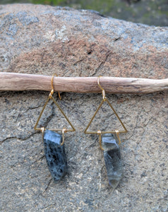 Hold Tight Labradorite Earrings