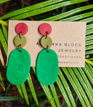 Load image into Gallery viewer, Jewel Tones Earrings