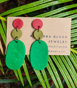 Jewel Tones Earrings