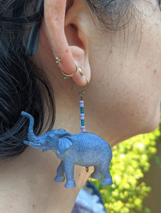 Empathic Elephant Earrings
