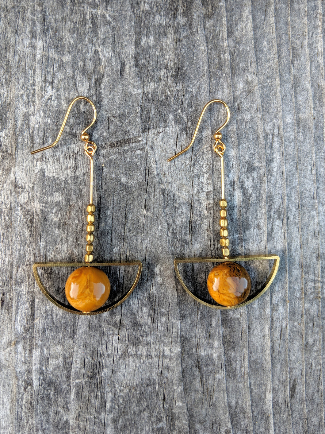 Golden Hue Earrings