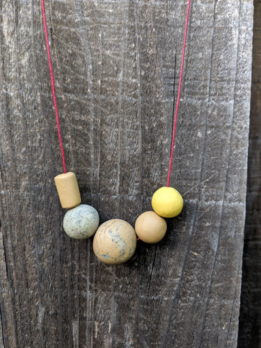 Neutral Pop Necklace