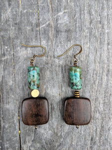 Dark + Stormy Earrings