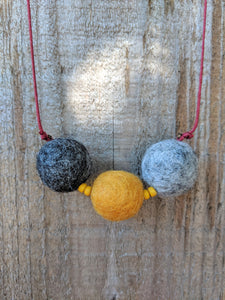 'Round the Sun Necklace