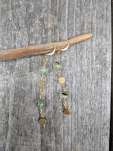 Load image into Gallery viewer, Pretty in Prehnite Earrings