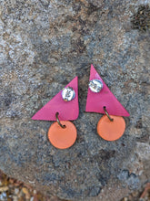 Load image into Gallery viewer, Mini Triangle Earrings