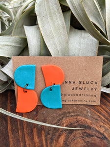 Parrot Polymer Earrings