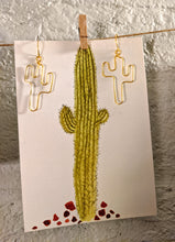 Load image into Gallery viewer, Saguaro Wire Earrings ~ Small Batch Earrings
