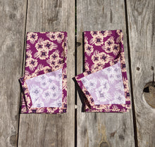 Load image into Gallery viewer, Napkin Set: Purple Poms