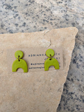 Load image into Gallery viewer, |AVAILABLE AT MAKER'S LOFT| Aguacate Slice Earrings