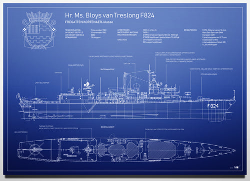 Hr. Ms. Bloys Van Treslong F824