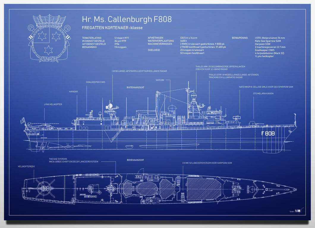 Hr. Ms. Callenburgh F808