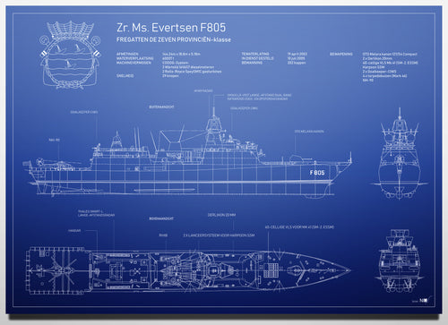 Hr. Ms. Evertsen F805