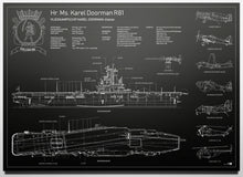 Afbeelding in Gallery-weergave laden, Hr. Ms. Karel Doorman R81