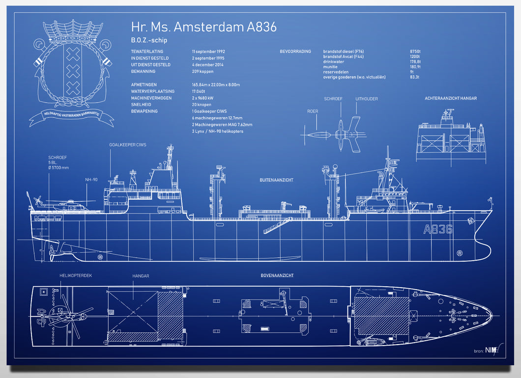 Hr. Ms. Amsterdam A836