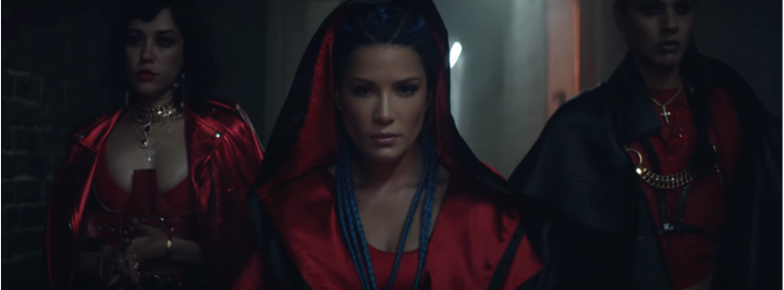 Halsey's Strangers Video places VidaKush on Vamps