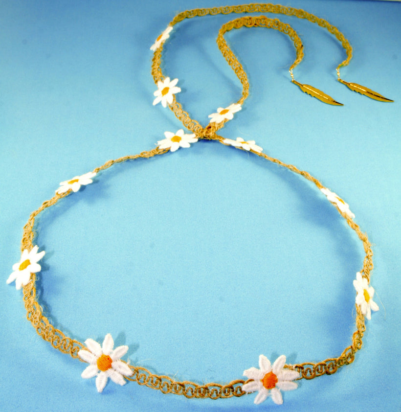 Yellow Daisy/Hemp Band