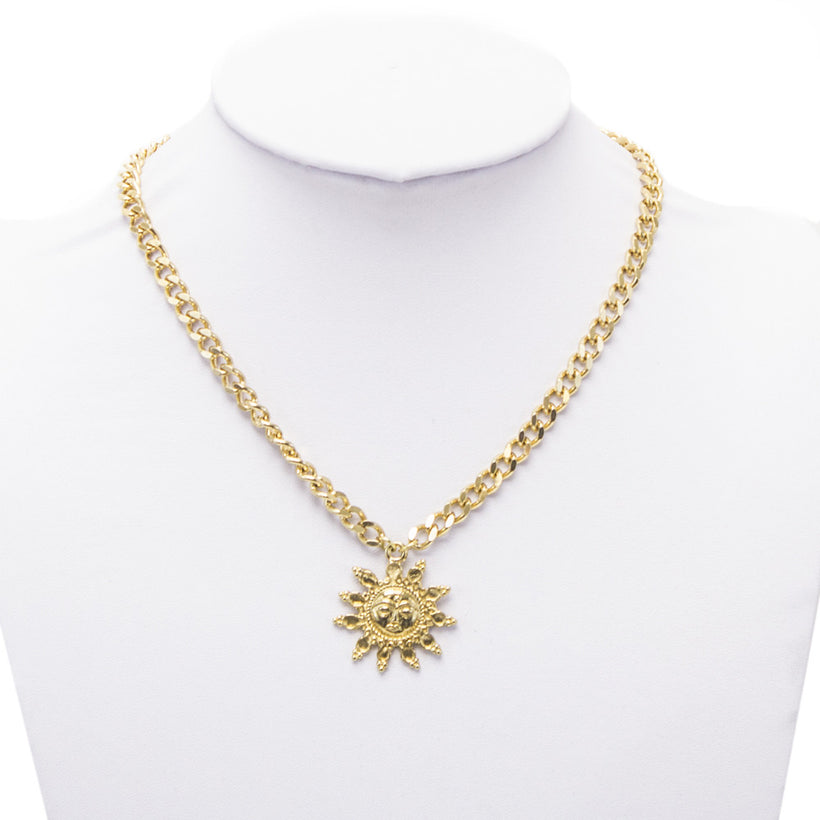 Apollo Sun Necklace