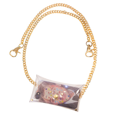 Clear Vinyl Chain Pouch