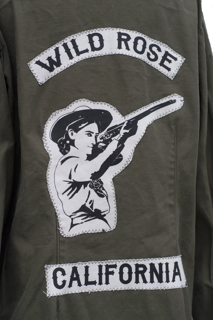 Wild Rose Army Jacket